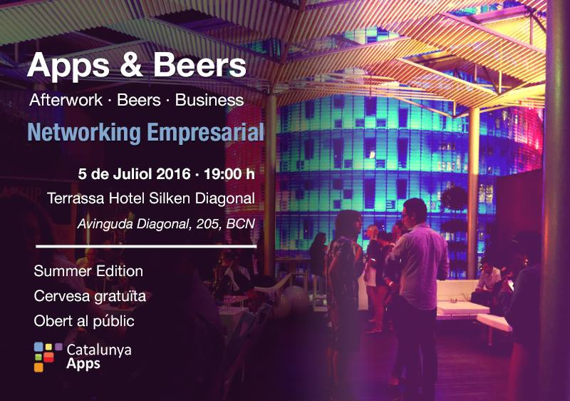 info about the Apps & Beers event