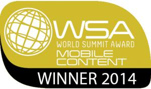 United Nations World Summit Award logo Splyce winner 2014